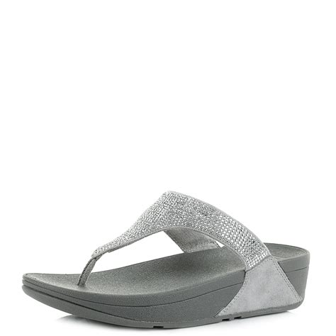 slinky sandals womens fit flop slinky rokkit silver suede wedge sandals