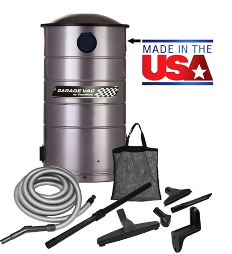 Garage Vac by Garage Cleaning With A Vacu Central Vacuum
