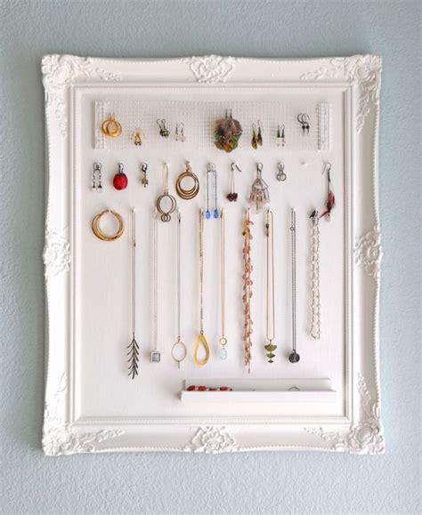 diy necklace organizer 11 diy necklace storage ideas