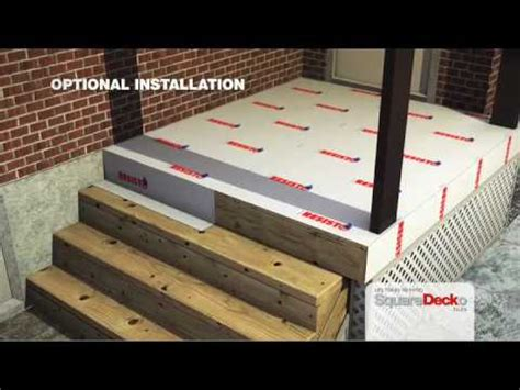 Cover Concrete Patio With Wood deck tiles to cover concrete ciment and wood surfaces