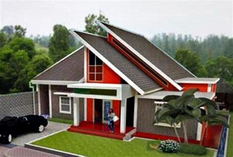 berbagai bentuk model atap rumah dan jenis material gambar model atap rumah minimalis modern