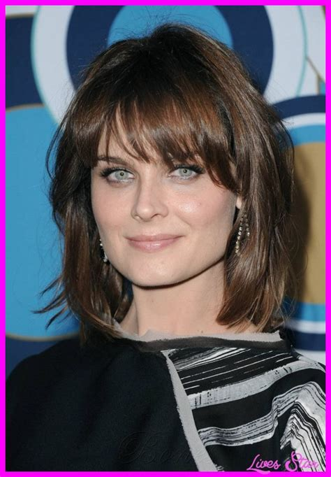 Hairstyles With Bangs For Faces hairstyles for square faces with bangs livesstar