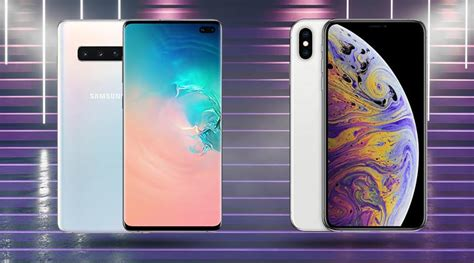Samsung Galaxy S10 Vs Iphone Xs by Samsung Galaxy S10 Vs Apple Iphone Xs Max Specifications Comparison Technology News The