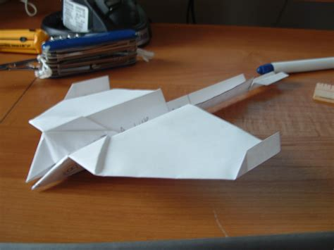 How Do You Make A Glider Paper Airplane - paper glider 13