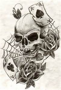 skull drawings tribal tattoos and skulls on pinterest