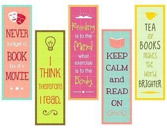 printable bookmarks customizable funny handmade and personalized bookmarks on pinterest
