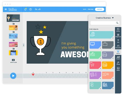 PowToon : Online business presentation software to create