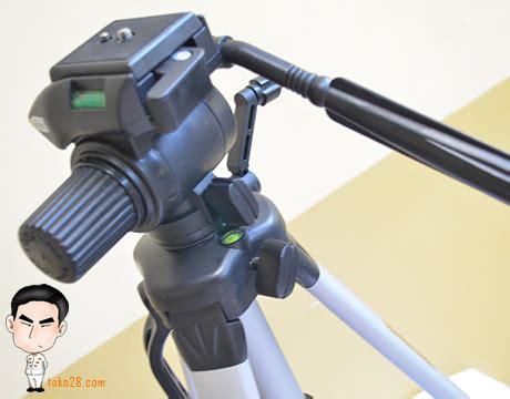 Tripod Untuk Kamera Prosumer tripod kamera digital tinggi 1 6m untuk foto panggung kapasitas 7kg