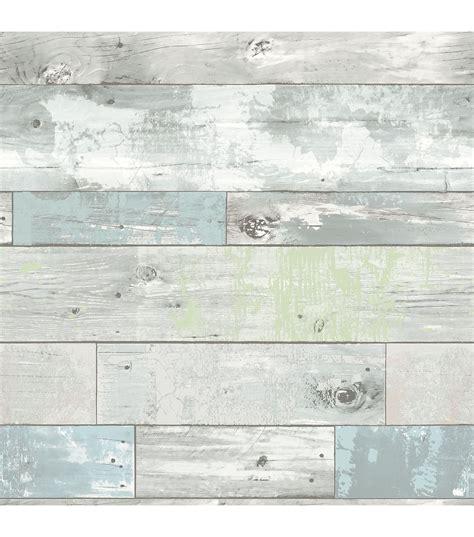 stick on wall wallpops 174 nuwallpaper beachwood peel and stick wallpaper