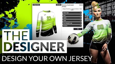 sle jersey design volleyball 3d volleyball jersey designer youtube