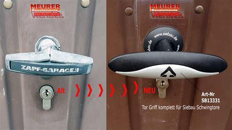 garagentor griffgarnitur tor griff komplett f 252 r siebau schwingtore sb13331