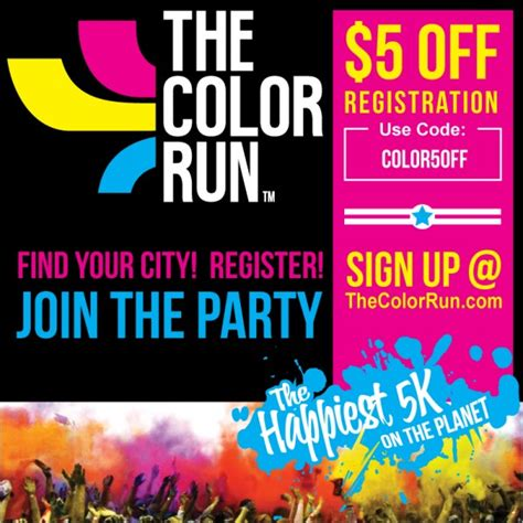 the color run coupon code the color run coupon code