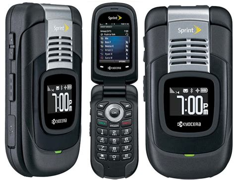 rugged gps kyocera duracore rugged gps bluetooth ptt phone sprint excellent in box condition used cell