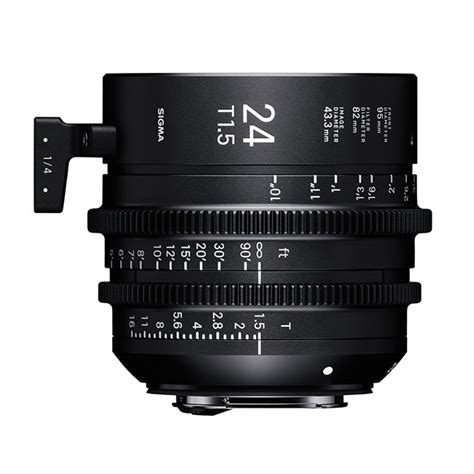sigma 24mm t1 5 ff high speed prime lens media systems tx