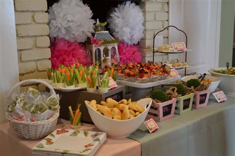 Luncheon Menu Ideas For Baby Shower by Miss Momma