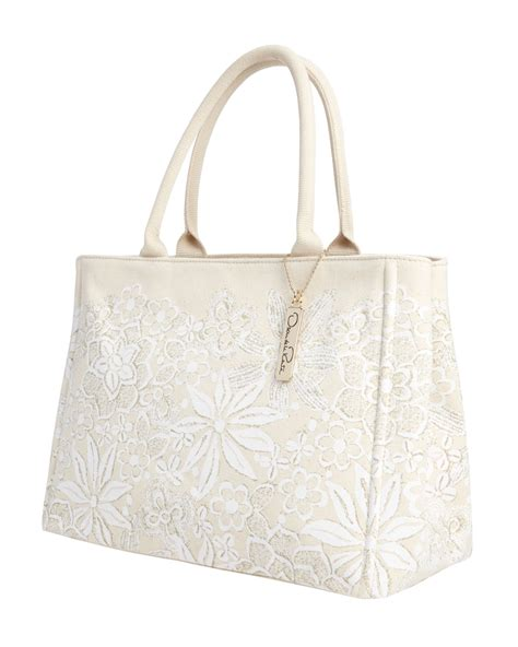 Rafe For Target Floral Canvas Handheld Duffle by Oscar De La Renta Nm Target Floral Canvas Tote Bag In