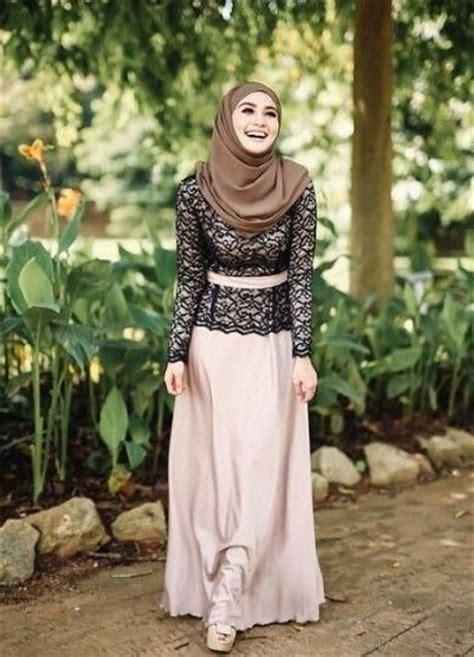 kebaya semi modern model baju muslim semi kebaya terbaru 2017 terpopuler