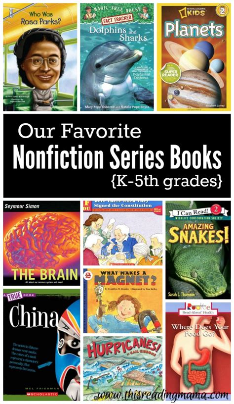 grade 5 picture books favorite nonfiction series books for k 5th grades this