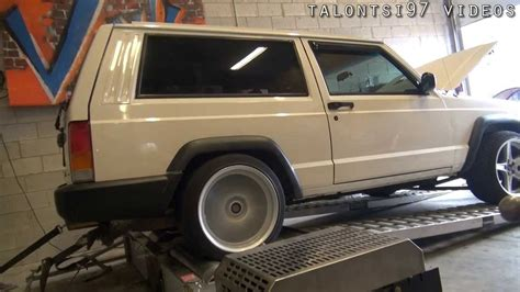 Jeep Xj Supercharger 200hp Supercharged Jeep Xj Dyno Doovi