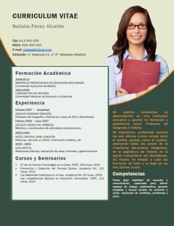 Modelo Curriculum Vitae Docente Curriculum Vitae