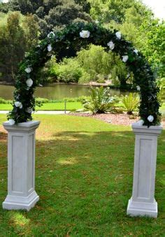 Wedding Arch Hire Adelaide by White Column Arch 130