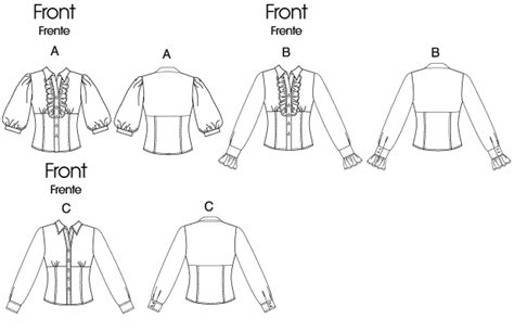 pattern review new look 6148 mccall s 6148 misses shirts