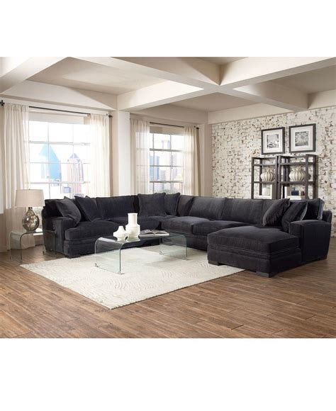 Macy S Living Room Furniture Teddy Fabric Sectional Living Room From Macys Misc Home