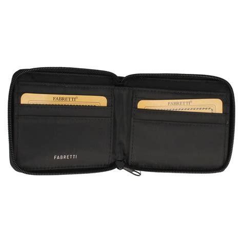 Zip Up Wallet unisex fabretti zip up wallet 90322 ebay