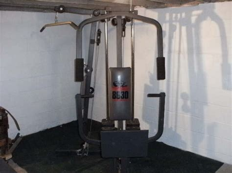 weider 8630 system weight machine pittsburgh