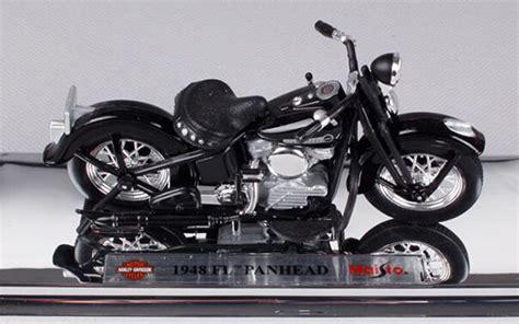 black 1 18 maisto diecast harley davidson 1948 fl panhead model nm01b141 ezmotortoys