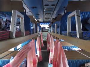 my sleeper from vientiane to pakse in laos