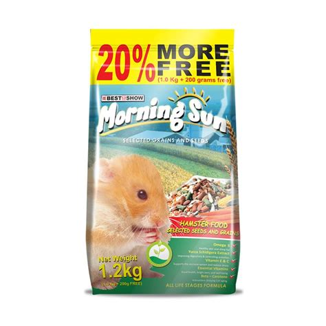 Morning Sun Rabbit Food 1 2 Kg jual best in show morning sun hamster food seed grain 1