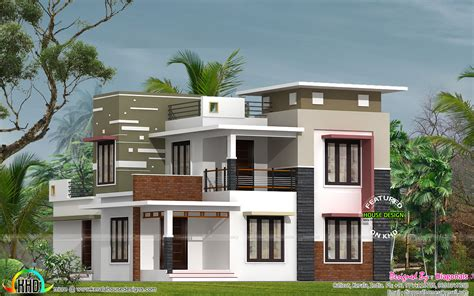 4 bhk modern flat roof home in 2160 sq ft kerala home design and floor plans january 2017 kerala home design and floor plans