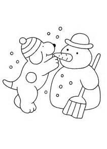 dancing snowman coloring page kids n fun 19 kleurplaten van dribbel