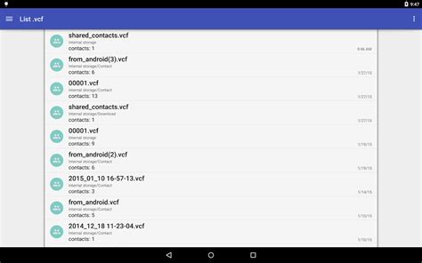 Where Android Store Contacts by Contacts Vcf Android Apps On Play
