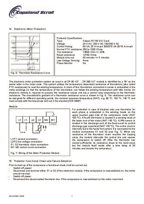 emerson copeland zr   zr  kc scroll compressors  air conditioning manual