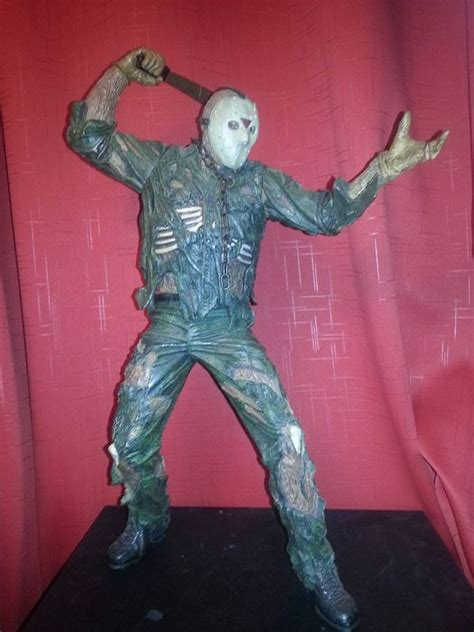 Neca Friday The 13th Jason 18 Inch friday the 13th neca cult classic figure 1 4 scale 18 inch 2003 jason voorhees