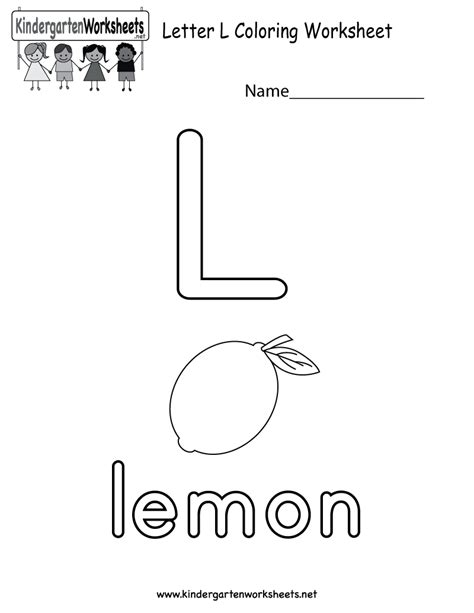 Letter L Worksheets by Free Coloring Pages Of Letter L Worksheet