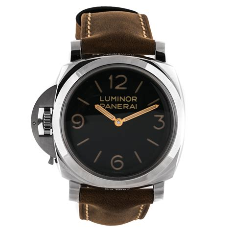 Panerai Luminor 3 panerai luminor 1950 3 days left handed acciaio pam 557