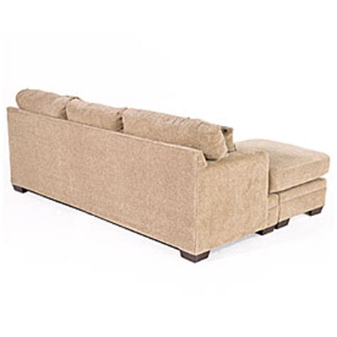 simmons columbia stone sofa with reversible chaise simmons columbia stone sectional sofas living room