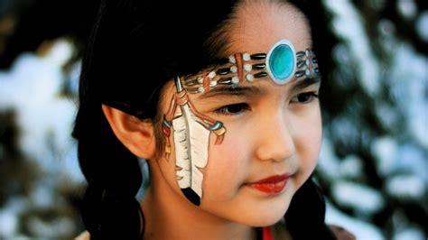 Karneval Schminken Indianer by Indianerin Schminken Indianerin Kinderschminken Vorlage
