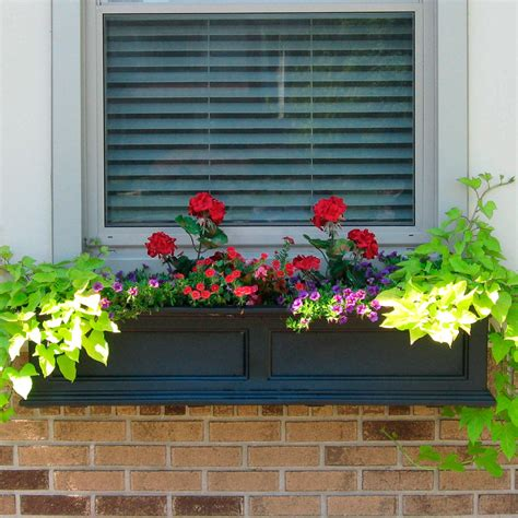 window planter fairfield window box or freestanding planter planters and windowboxes outdoor