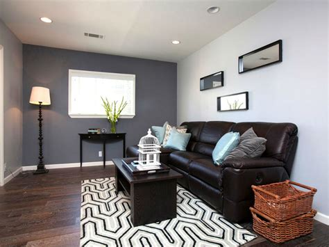 paint colors that go with brown leather colour scheme for living room with brown sofa