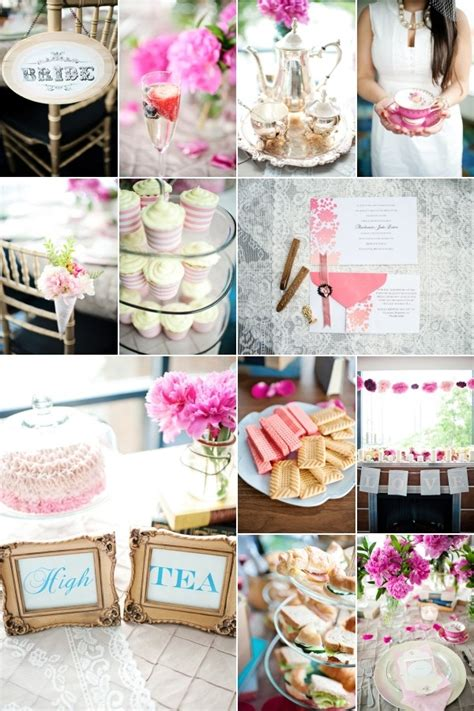 Tea Bridal Shower Ideas by High Tea Bridal Shower Bridal Shower Ideas