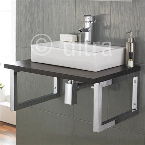 Bathroom Basin Shelf by Ultra Vanity Sets Gt Vanity Shelf Rectangular Basin 600mm Brown