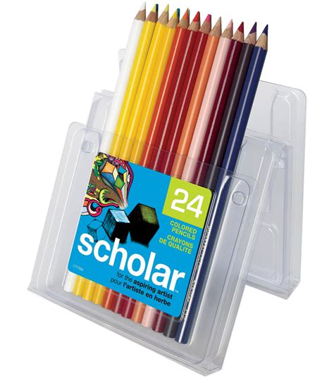 prismacolor colored pencils prismacolor scholar colored pencil set 24 pk at joann