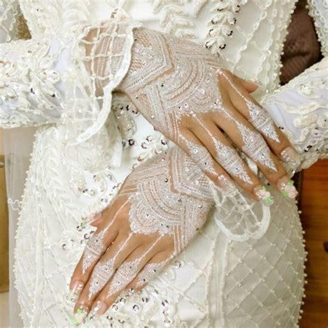 learn   art  white henna  wedding maubelajarapa