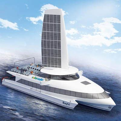 Solar Powered Cruise Cars Use The Sun On The Golf Course by Solar Powered Boats Sailing The High Seas With Free