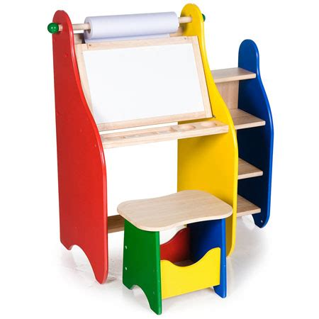 toddler art desk art activity desk provides a great place of painting and