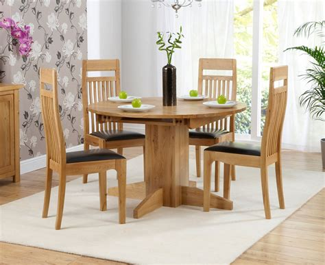 round dining room table for 4 round dining table set for 4 homesfeed